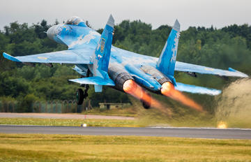 58 - Ukraine - Air Force Sukhoi Su-27