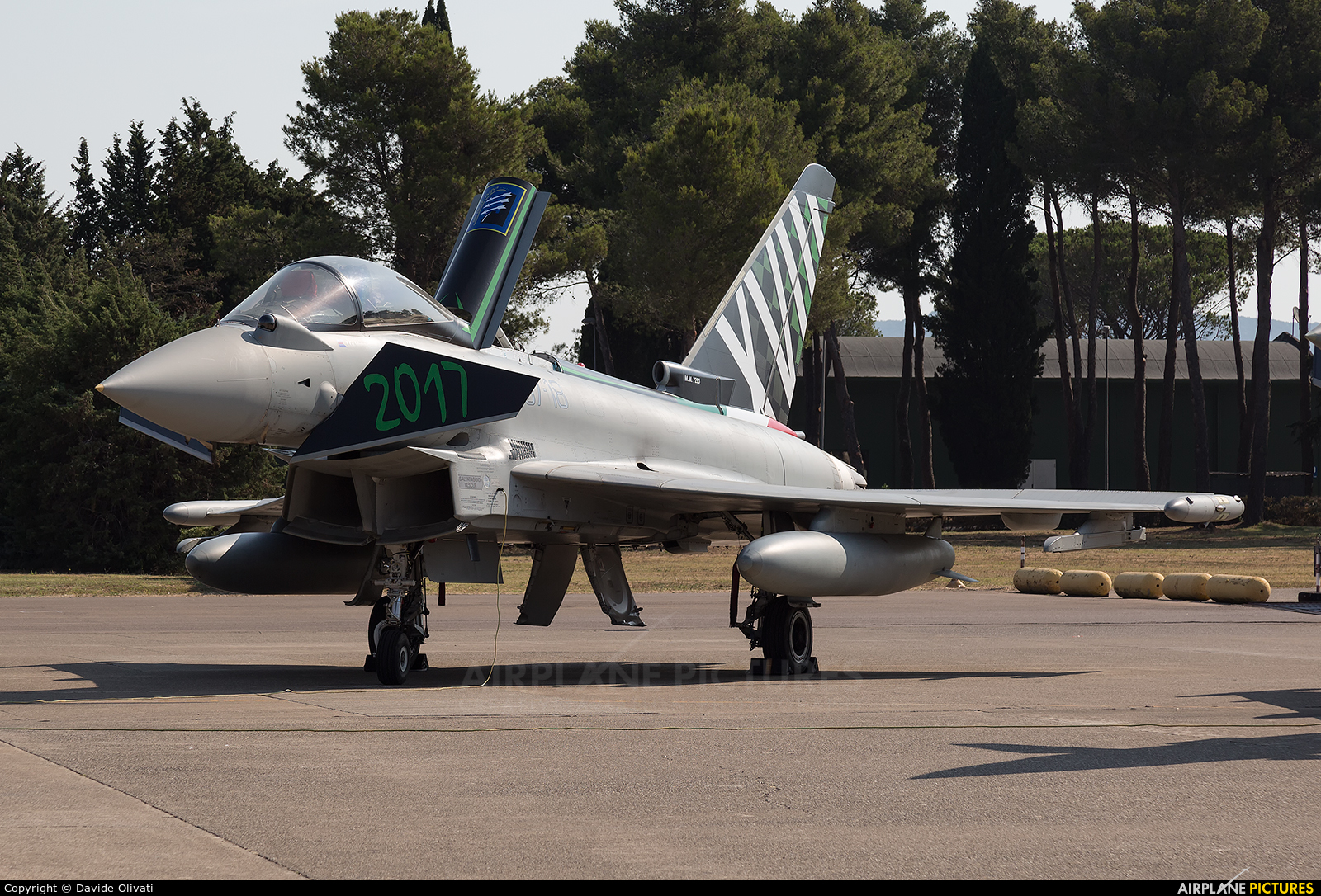 Italy - Air Force MM7293 aircraft at Grosseto - Corrado Baccarini