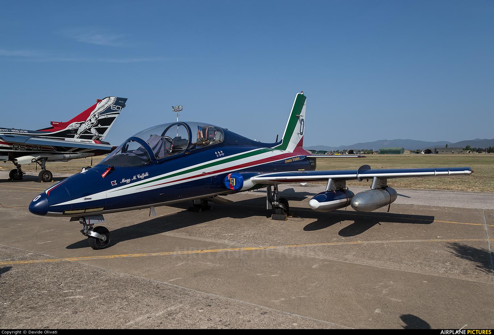 """Italy - Air Force """"Frecce Tricolori"""" MM54517 aircraft at Grosseto - Corrado Baccarini"""