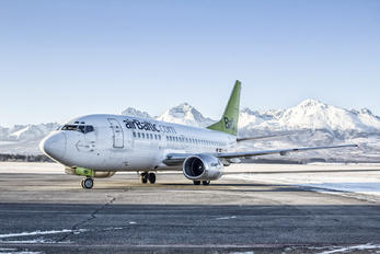 YL-BBD - Air Baltic Boeing 737-500