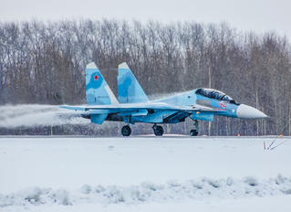 25 RED - Russia - Air Force Sukhoi Su-30SM