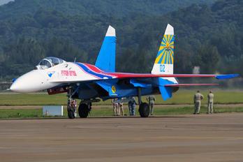 "02 - Russia - Air Force ""Russian Knights"" Sukhoi Su-27P"