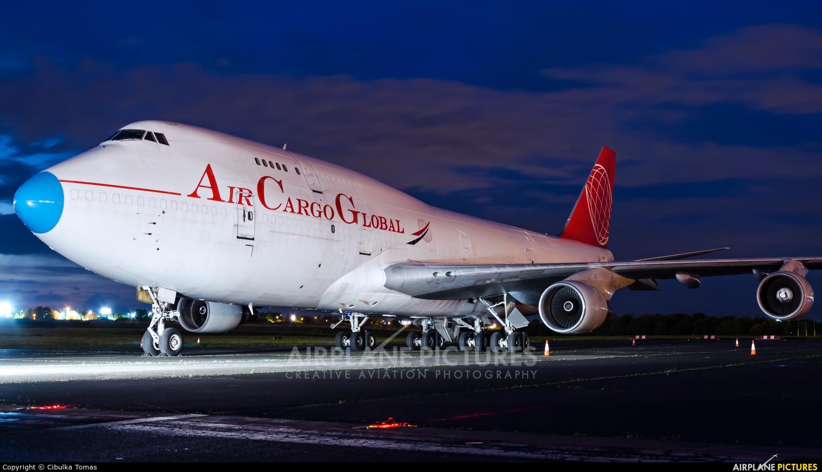 Air Cargo Global OM-ACG aircraft at Prague - Václav Havel