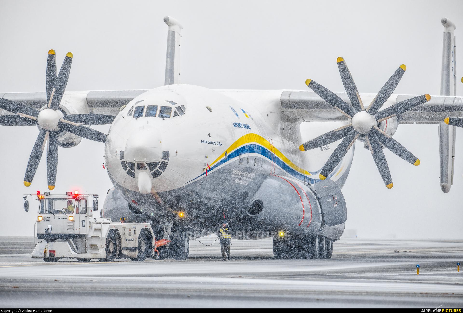 Antonov Airlines /  Design Bureau UR-09307 aircraft at Helsinki - Vantaa