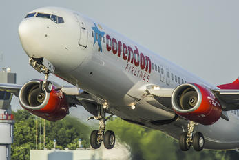 TC-TJS - Corendon Airlines Boeing 737-800