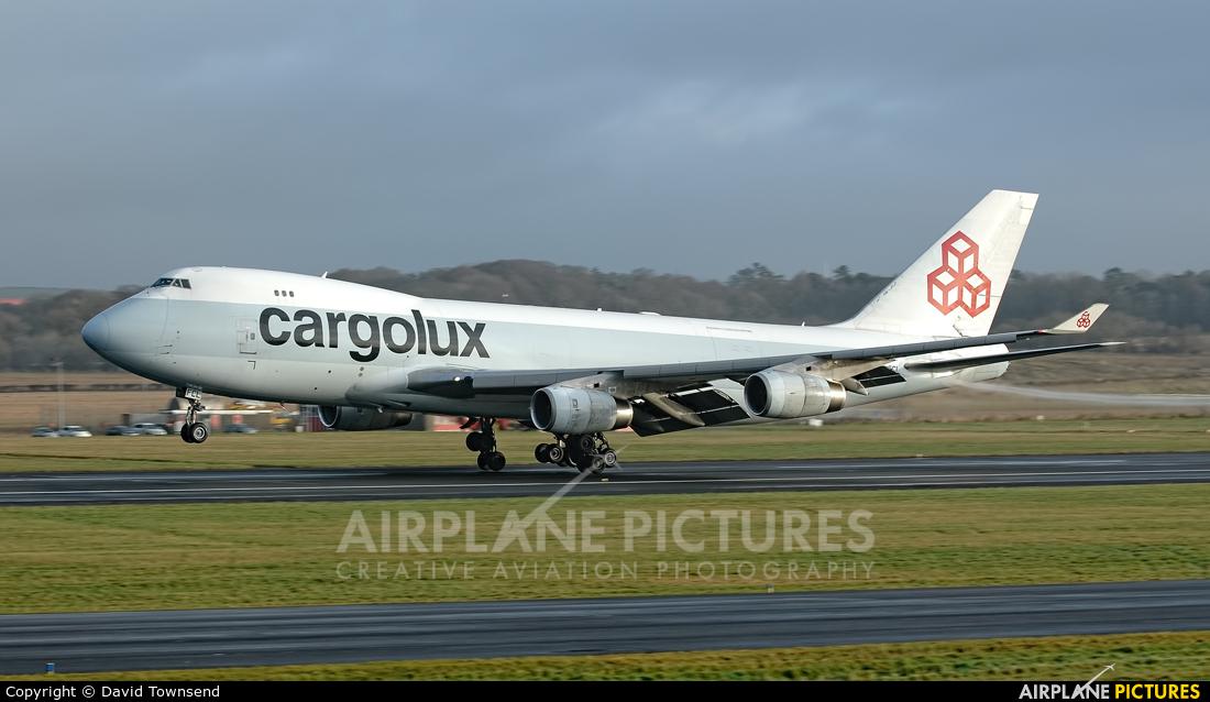Cargolux LX-FCL aircraft at Prestwick