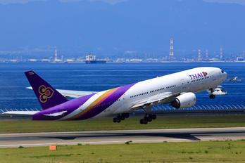 HS-TJD - Thai Airways Boeing 777-200