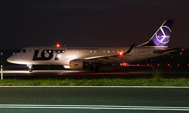 SP-LIC - LOT - Polish Airlines Embraer ERJ-175 (170-200)