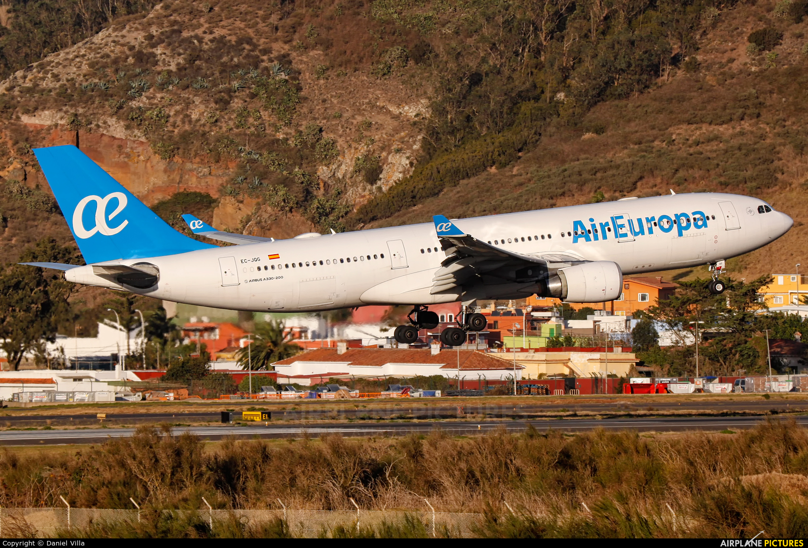 Air Europa EC-JQG aircraft at Tenerife Norte - Los Rodeos