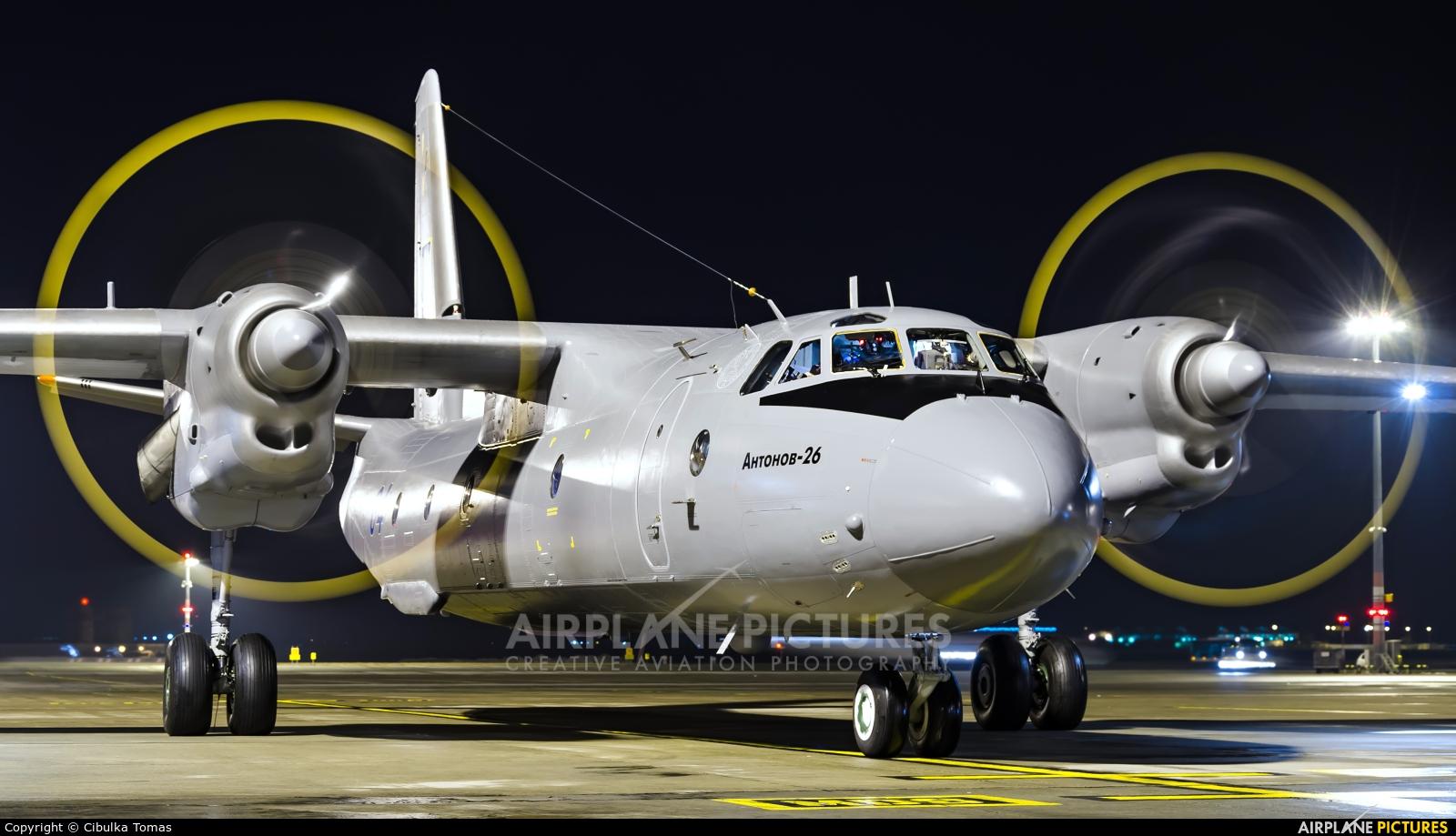 Ukraine - Air Force 04 aircraft at Prague - Václav Havel