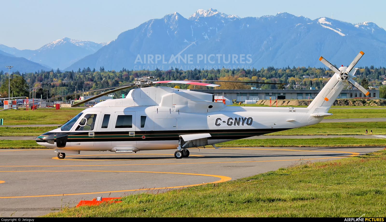 Helijet C-GNYO aircraft at Vancouver Intl, BC