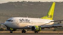 YL-BBQ - Air Baltic Boeing 737-500 aircraft