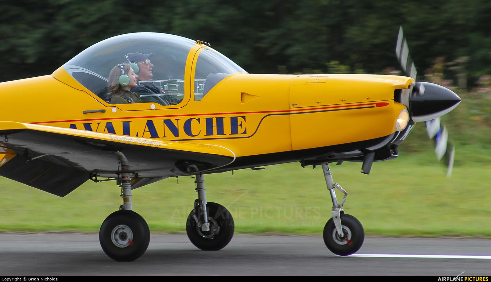 Avalanche Aviation G-BUUK aircraft at Welshpool