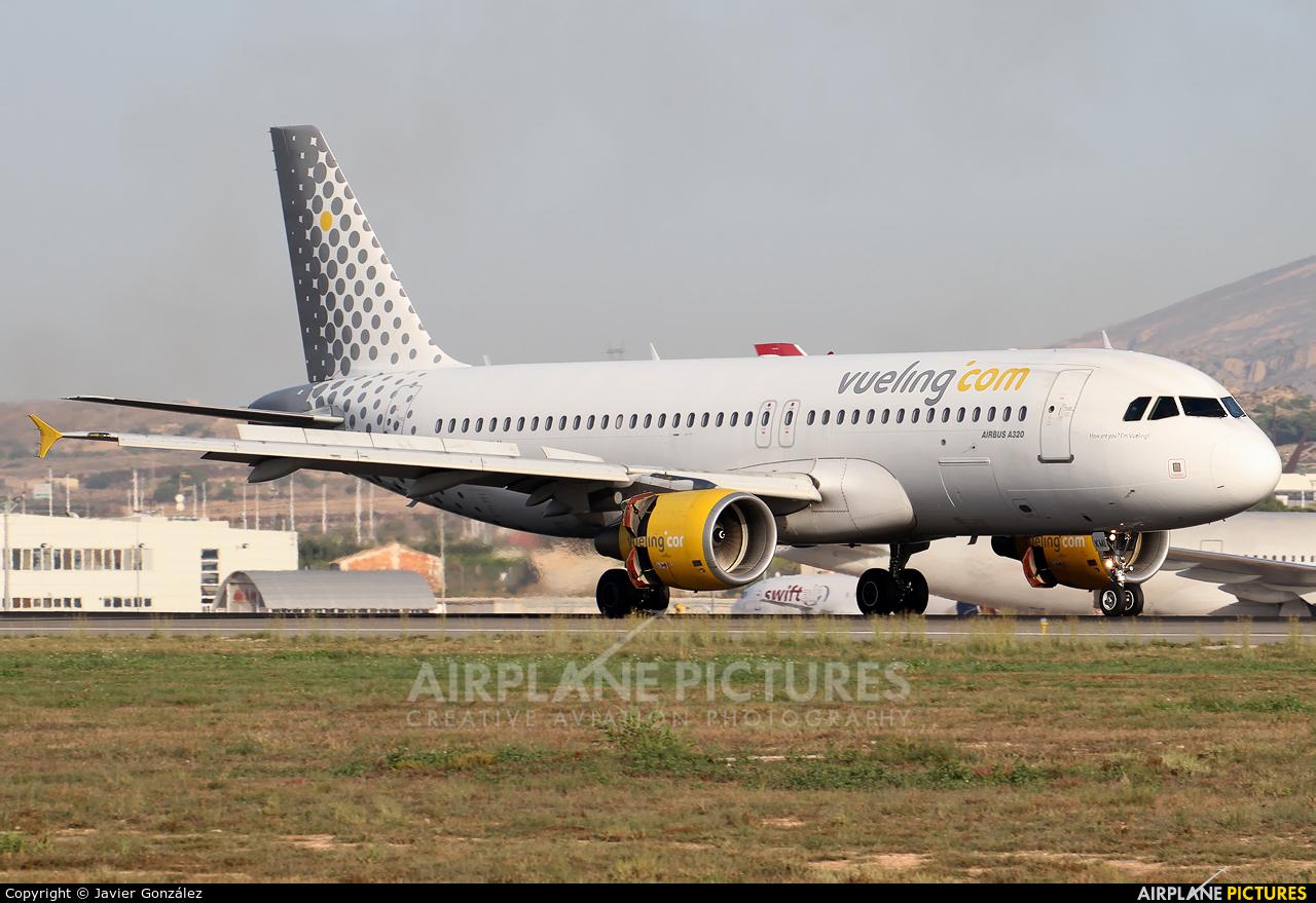 Vueling Airlines EC-KMI aircraft at Alicante - El Altet