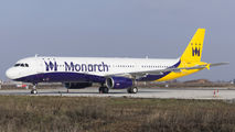 Former Monarch A321 will operate for Olympus Airways  title=