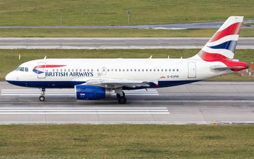 G-EUPM - British Airways Airbus A319