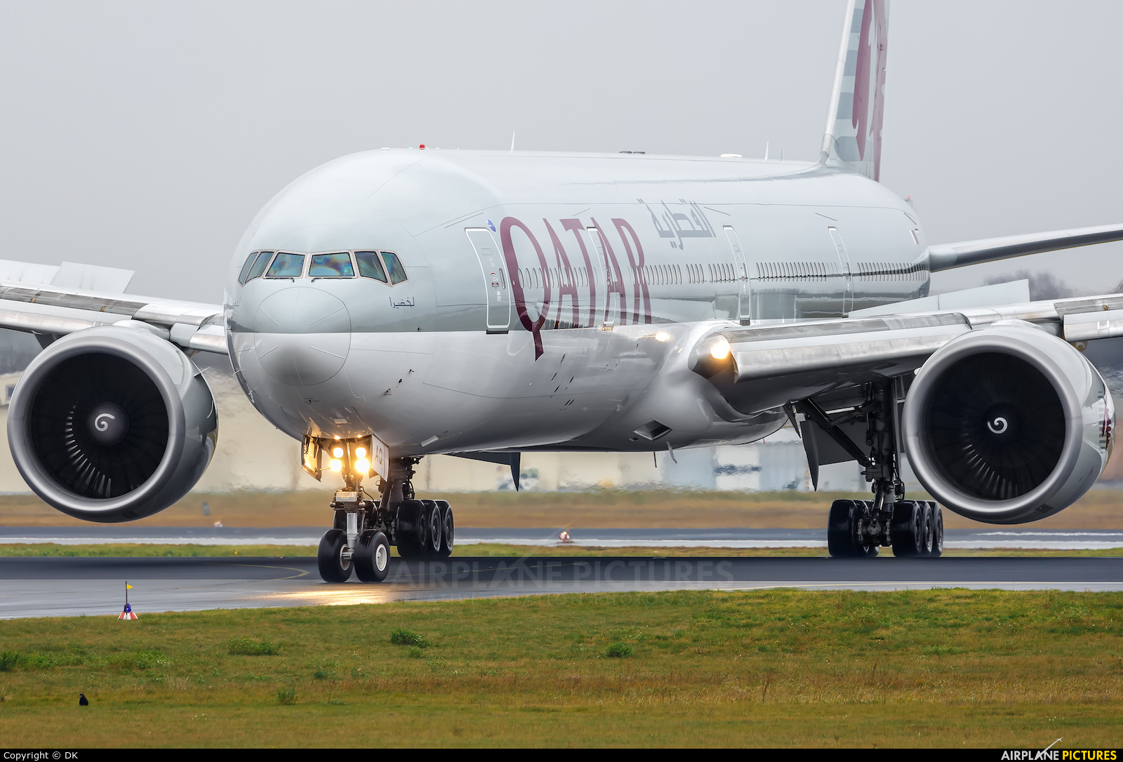 Qatar Airways A7-BAQ aircraft at Berlin - Tegel