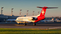 HB-JVH - Helvetic Airways Fokker 100 aircraft