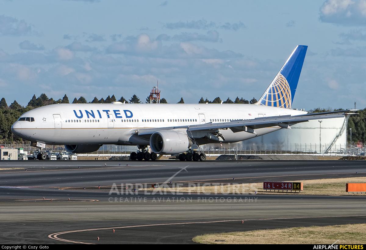 United Airlines N791UA aircraft at Tokyo - Narita Intl