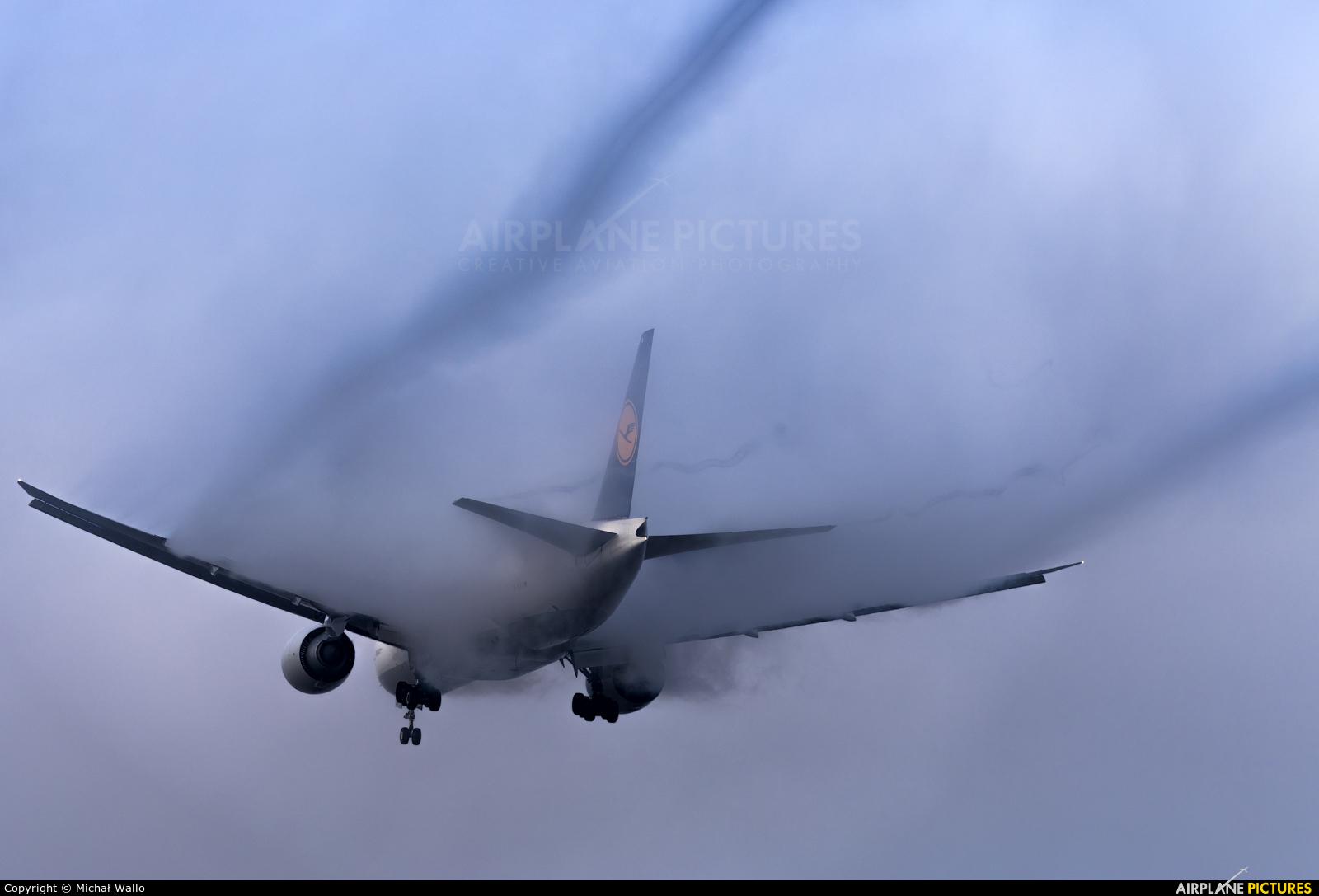 Lufthansa Cargo D-ALFA aircraft at Frankfurt
