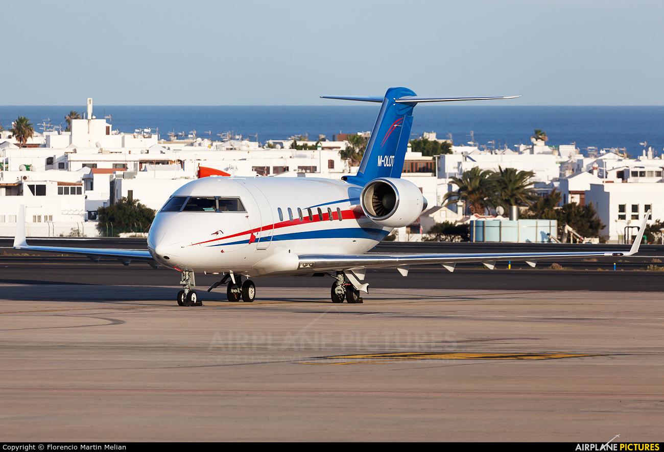 Private M-OLOT aircraft at Lanzarote - Arrecife