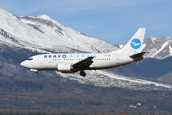 UR-CNE - Bravo Airways Boeing 737-500