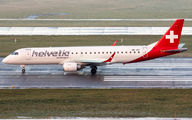 HB-JVP - Helvetic Airways Embraer ERJ-190 (190-100) aircraft