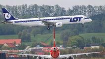 SP-LNC - LOT - Polish Airlines Embraer ERJ-190 (190-100) aircraft