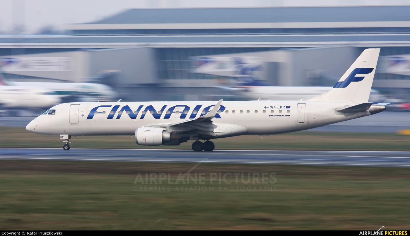 Finnair OH-LKR aircraft at Warsaw - Frederic Chopin