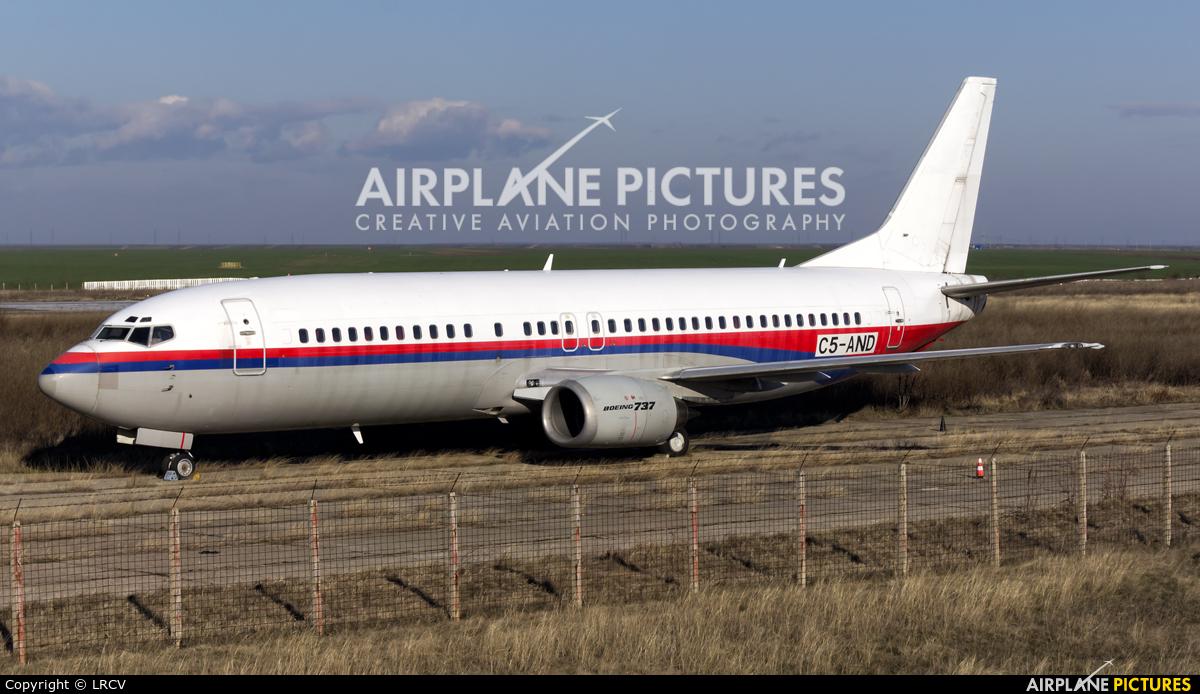 Unknown C5-AND aircraft at Craiova