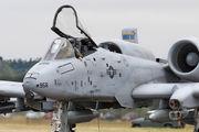 81-0956 - USA - Air Force Fairchild A-10 Thunderbolt II (all models) aircraft