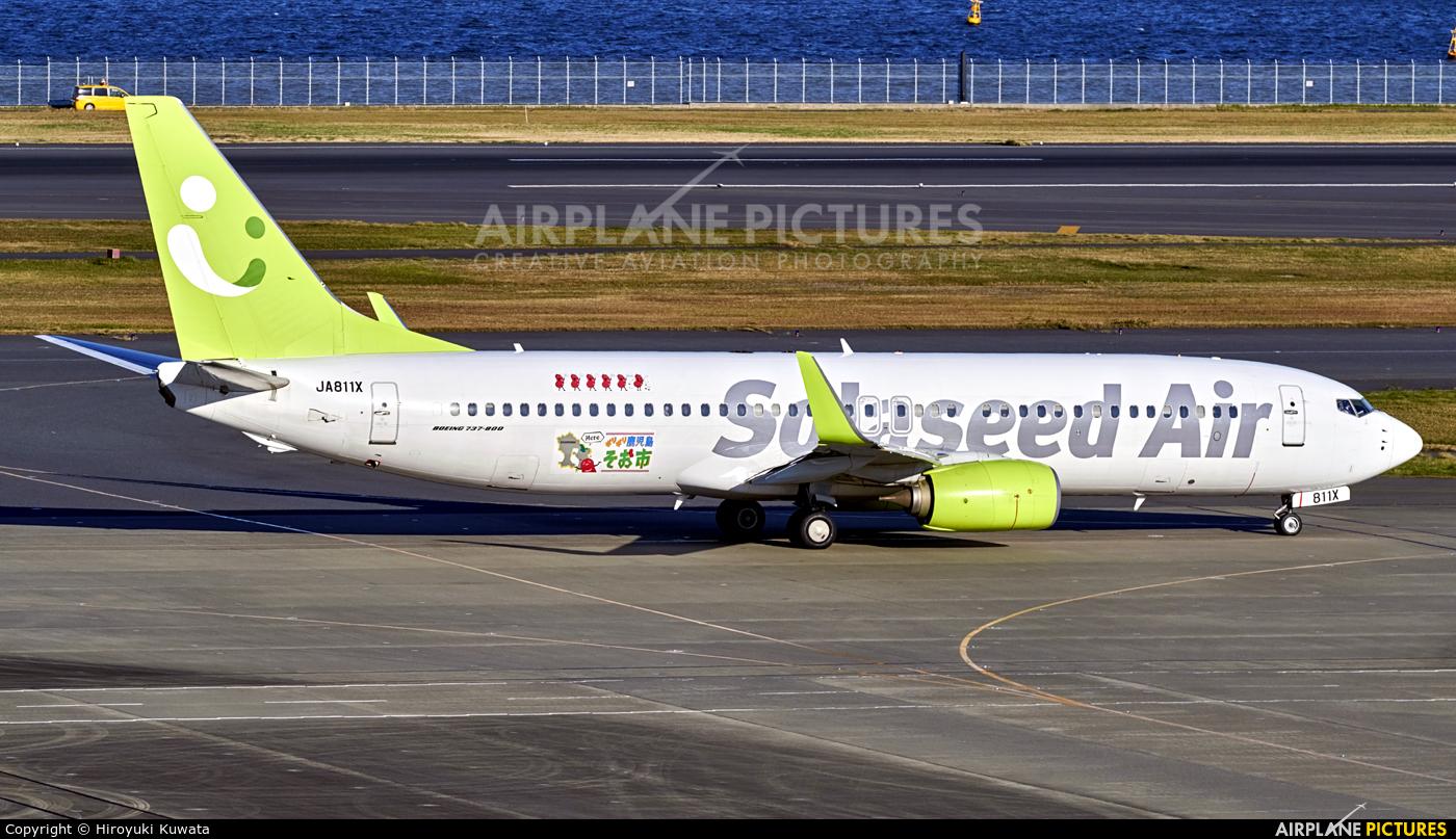 Solaseed Air - Skynet Asia Airways JA811X aircraft at Tokyo - Haneda Intl