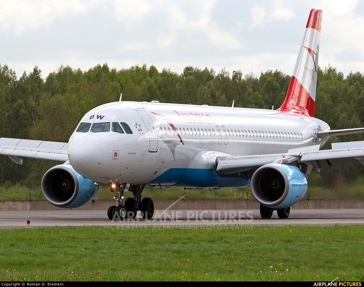 Austrian Airlines/Arrows/Tyrolean OE-LBW aircraft at St. Petersburg - Pulkovo