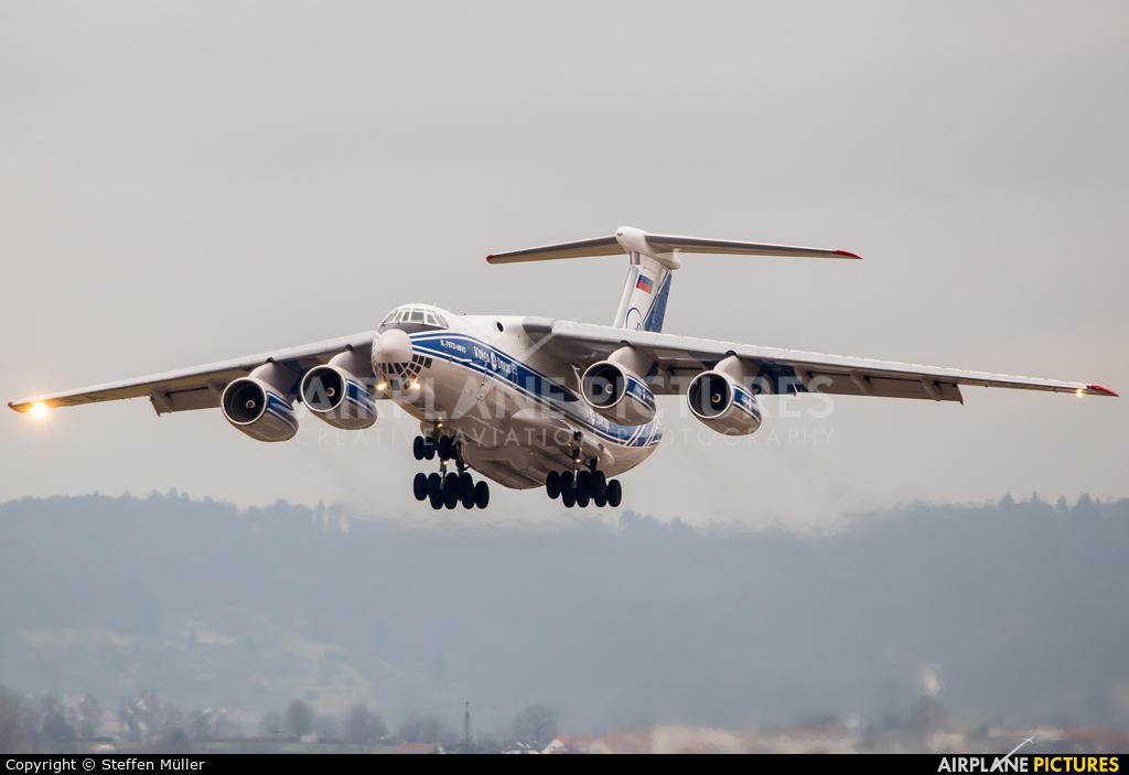 Volga Dnepr Airlines RA-76952 aircraft at Stuttgart