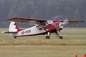 SP-YKW - Aeroklub Orląt Yakovlev Yak-12A