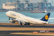 D-ABYM - Lufthansa Boeing 747-8 aircraft