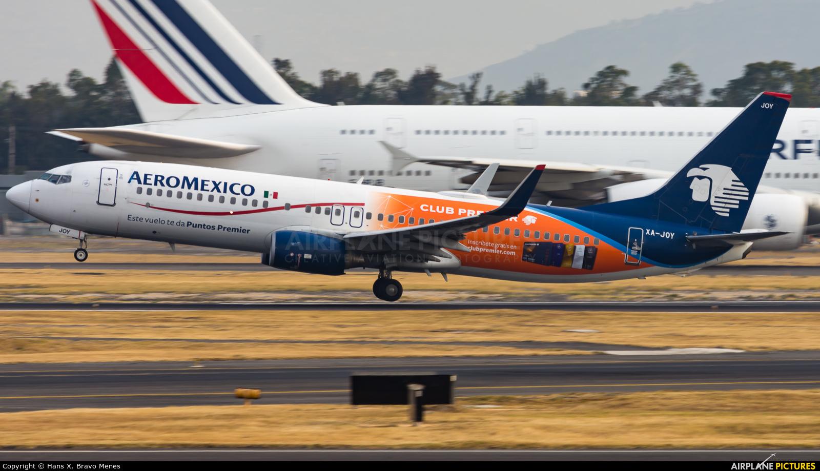Aeromexico XA-JOY aircraft at Mexico City - Licenciado Benito Juarez Intl