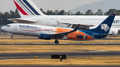 XA-JOY - Aeromexico Boeing 737-800