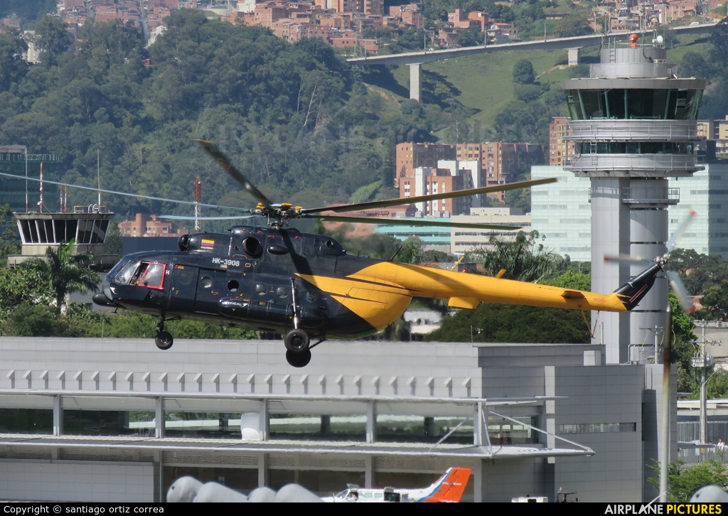 Private HK-3908 aircraft at Medellin - Olaya Herrera