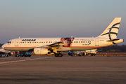 SX-DVU - Aegean Airlines Airbus A320 aircraft
