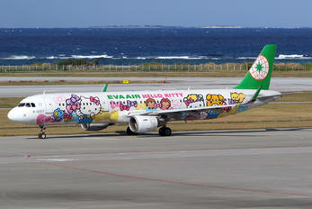 B-16207 - Eva Air Airbus A321