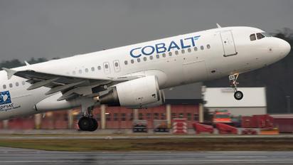 5B-DCY - Cobalt Airbus A320