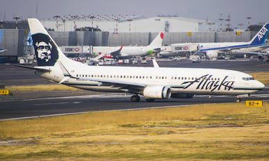 N520AS - Alaska Airlines Boeing 737-800