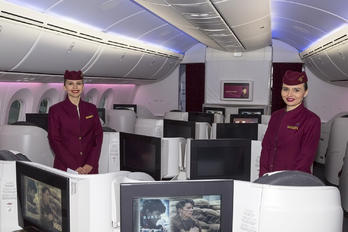 - Qatar Airways - Aviation Glamour - Flight Attendant