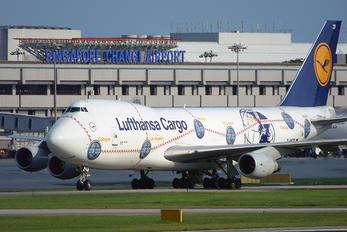 D-ABZF - Lufthansa Cargo Boeing 747-200F