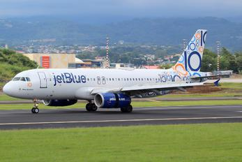 N569JB - JetBlue Airways Airbus A320