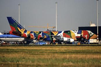 ZS-SAJ - South African Airways Boeing 747-300