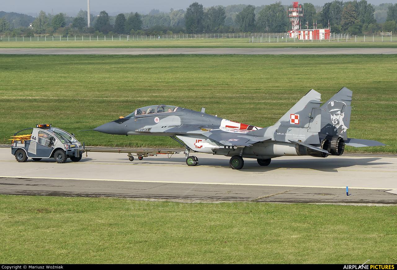 Poland - Air Force 15 aircraft at Ostrava Mošnov
