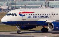 G-EUPK - British Airways Airbus A319 aircraft