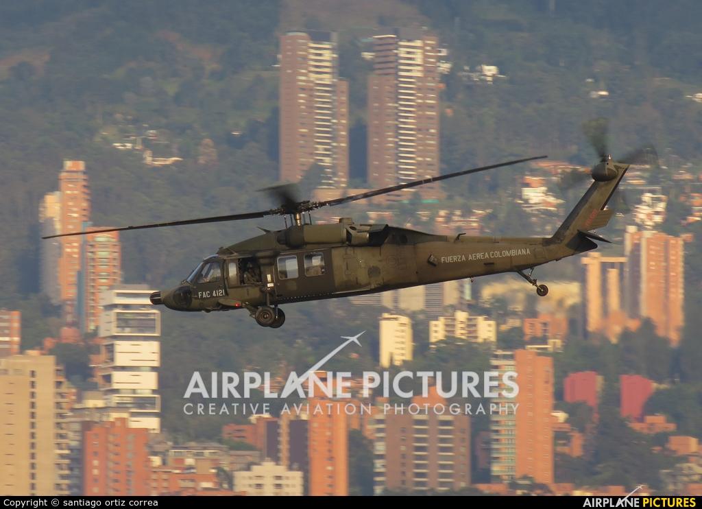 Colombia - Air Force FAC-4121 aircraft at Medellin - Olaya Herrera